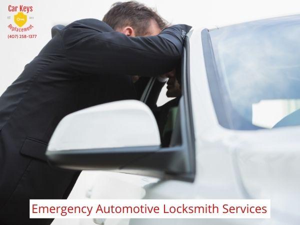 Emergency Automotive Locksmith Service Orlando- Car Keys Replacement (407) 258-1377