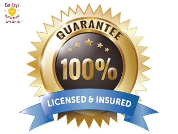 Licensed and insured in florida- Car Keys Replacement (407) 258-1377 (1)