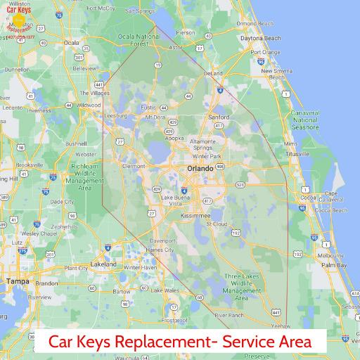 Orlando Service Area- Car Keys Replacement (407) 258-1377