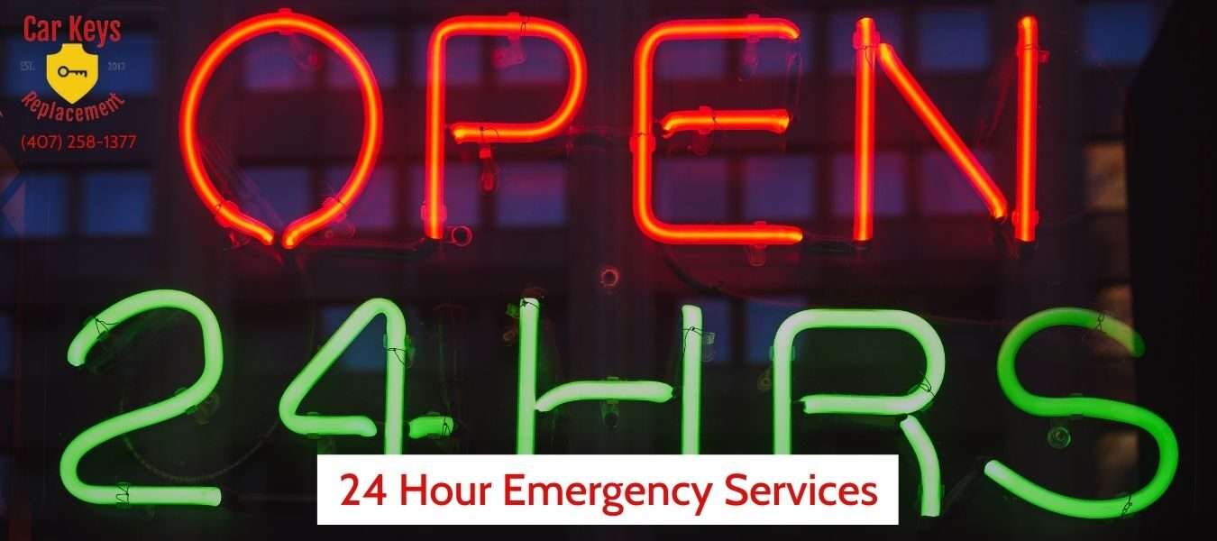 24 Hour Emergency Services- Car Keys Replacement (407) 258-1377
