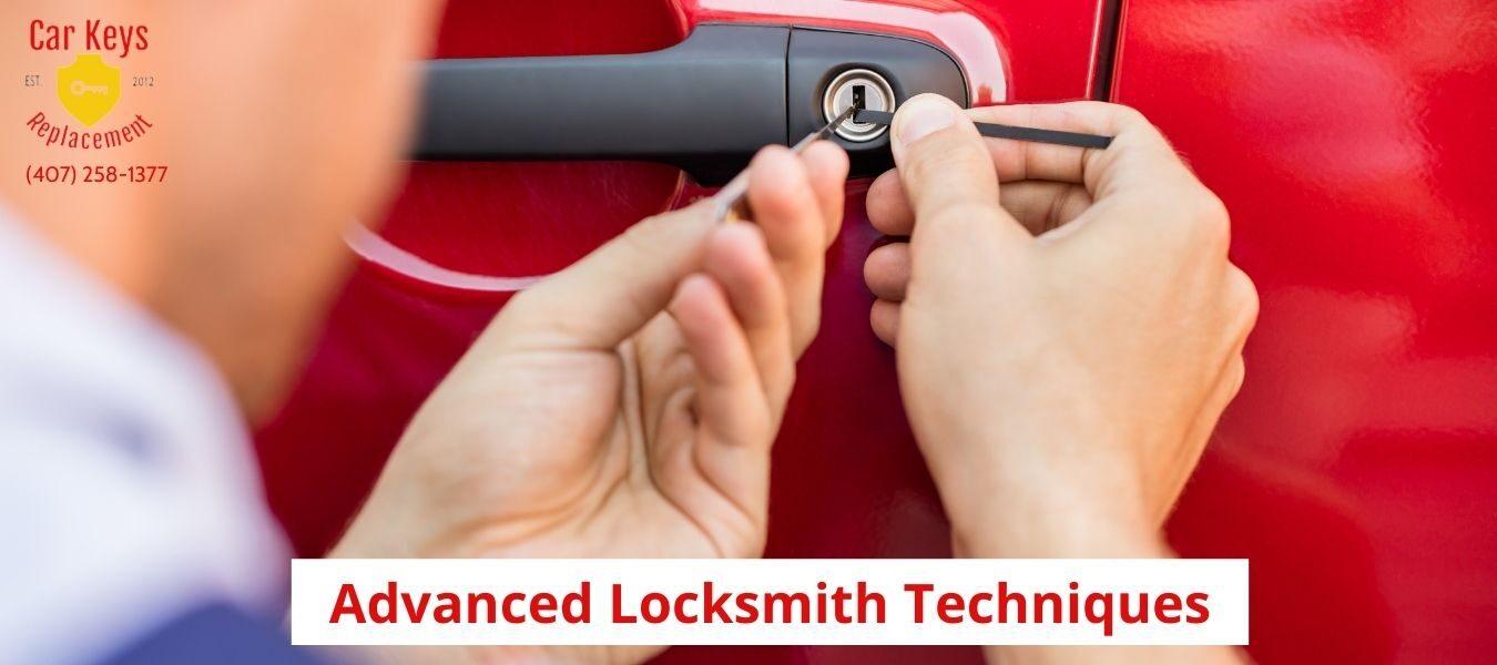 Advanced Locksmith Techniques- Car Keys Replacement (407) 258-1377