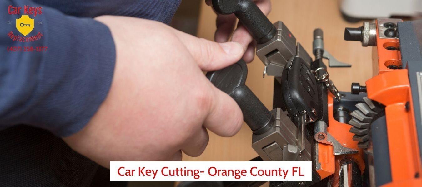 Car Key Cutting In Orange County FL- Car Keys Replacement (407) 258-1377