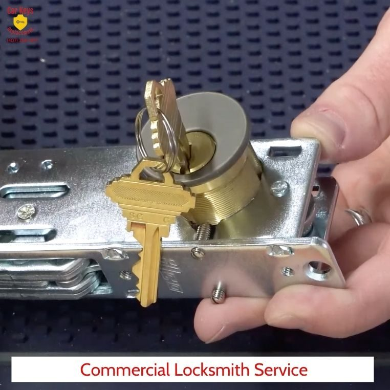 Commercial Locksmith Services Orlando- Car Keys Replacement (407) 258-1377